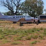 Land in the very middle of the remote Kimberley in our Jet-prop, transfer to a 4WD bus and off on a short adventure.